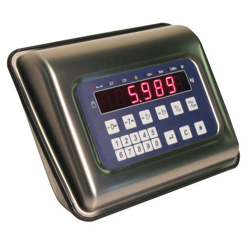 STAINLESS STEEL weighing indicator IP67 protection
